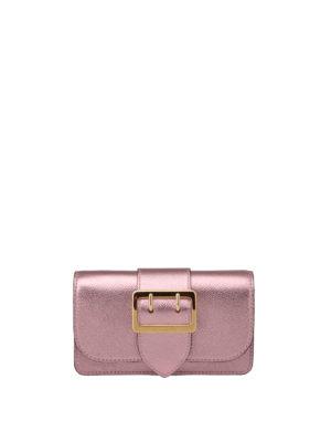 Burberry: cross body bags - The Buckle mini crossbody bag