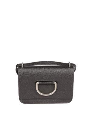 BURBERRY: borse a tracolla - Borsa The D-ring Mini nera