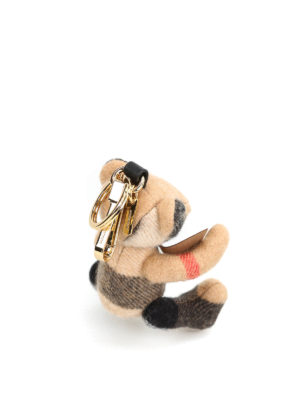 Burberry: key holders online - Thomas teddy bear key holder