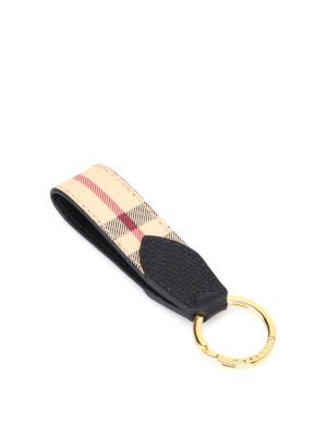 Burberry: key holders - Tartan pattern key holder