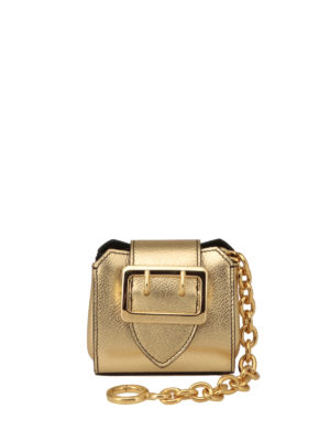 Burberry: key holders - The Mini Buckle charm