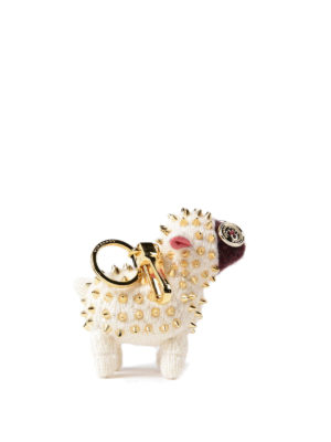 Burberry: key holders - Wendy The Sheep cashmere charm