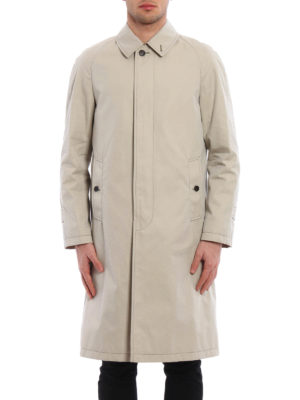 Burberry: knee length coats online - Trench style coat