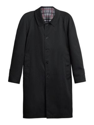 BURBERRY: cappotti al ginocchio - Soprabito reversibile