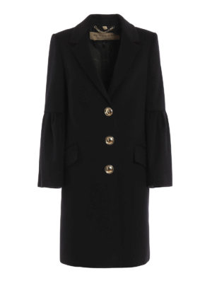 Burberry: knee length coats - Wool and cashmere coat