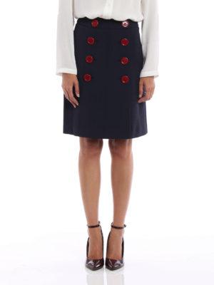 Burberry: Knee length skirts & Midi online - Trenchbridge viscose A-line skirt