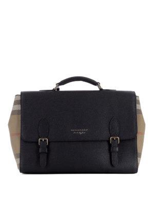 Burberry: laptop bags & briefcases - Black Messenger bag