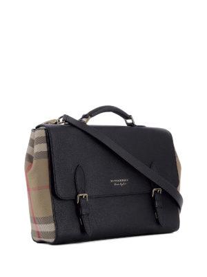 Burberry: laptop bags & briefcases online - Black Messenger bag