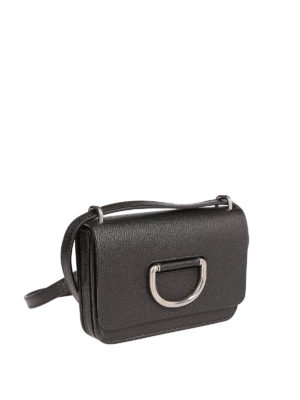 BURBERRY: borse a tracolla online - Borsa The D-ring Mini nera