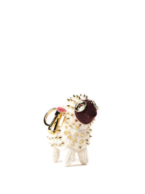 BURBERRY: portachiavi online - Charm in cashmere Wendy The Sheep