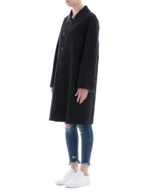 BURBERRY: cappotti al ginocchio online - Soprabito reversibile