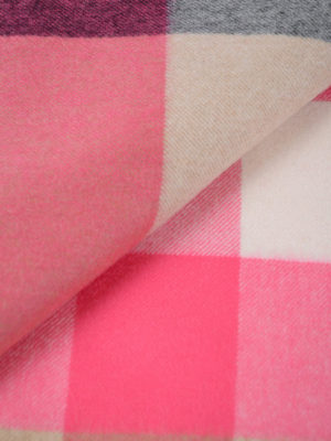 BURBERRY: sciarpe e foulard online - Sciarpa in cashmere tartan oversize