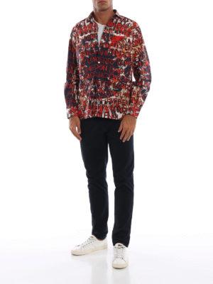 BURBERRY: camicie online - Camicia Casson con stampa London graffiti