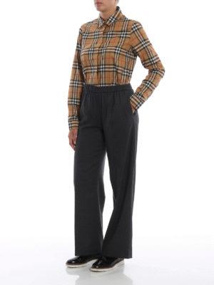 BURBERRY: camicie online - Camicia Crow in cotone Vintage check