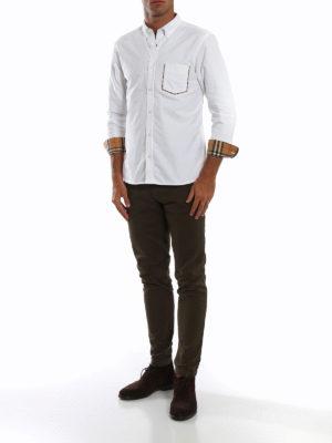 BURBERRY: camicie online - Camicia Harry in cotone Oxford