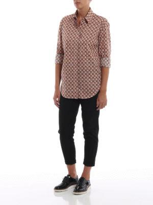 BURBERRY: camicie online - Camicia in cotone Kestrel a quadri d'archivio