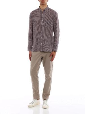 BURBERRY: camicie online - Camicia Salwick in cotone vichy