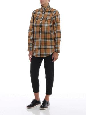 BURBERRY: camicie online - Camicia Starling in classico cotone scozzese