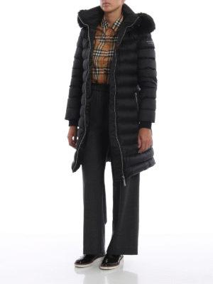 BURBERRY: cappotti corti online - Cappotto imbottito e trapuntato Limehouse