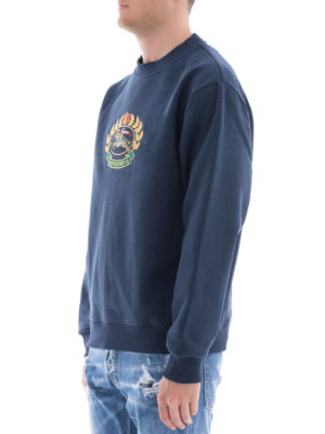 BURBERRY: Felpe e maglie online - Felpa con stemma archivio ricamato