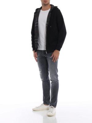 BURBERRY: Felpe e maglie online - Felpa Fordson con zip e cappuccio