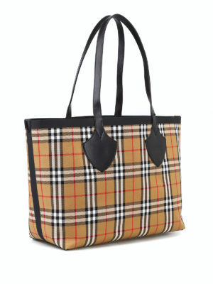BURBERRY: shopper online - Shopper reversibile The Medium Giant