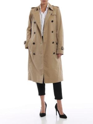 BURBERRY: cappotti trench online - Impermeabile beige Kensington Extra Long