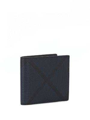 BURBERRY: portafogli online - Portafoglio e portadocumenti London check