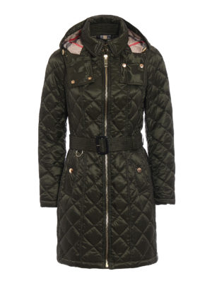Burberry: padded coats - Baughton puffer parka
