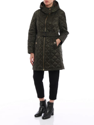 Burberry: padded coats online - Baughton puffer parka