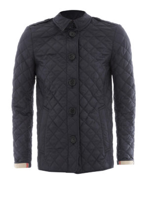 Burberry: padded jackets - Ashurst diamond quilted jacket