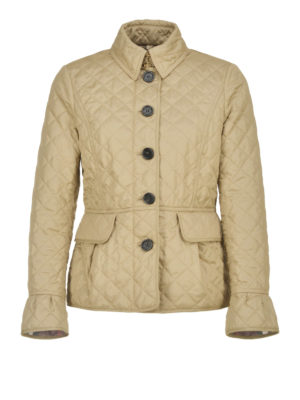 Burberry: padded jackets - Clovely diamond quilted jacket