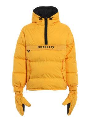 BURBERRY: giacche imbottite - Piumino Halstead con muffole removibili