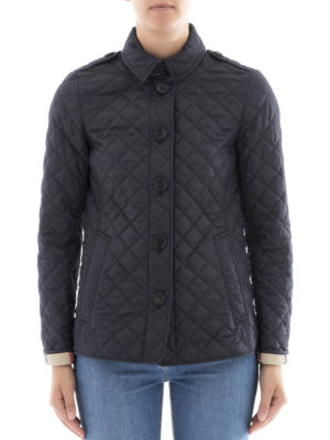 Burberry: padded jackets online - Ashurst diamond quilted jacket