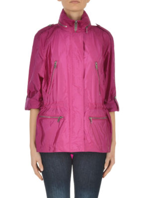 Burberry: parkas online - Tanbridge short light parka