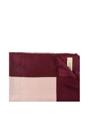 Burberry: scarves - Burberry cashmere blend scarf