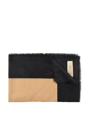 Burberry: scarves - Burberry cashmere blend scarf