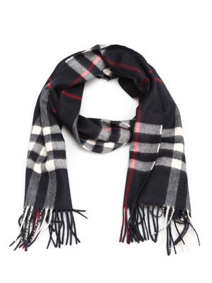 Burberry: scarves - Cashmere Check scarf