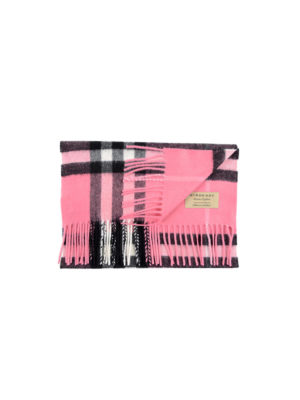 Burberry: scarves - Giant Check cashmere scarf