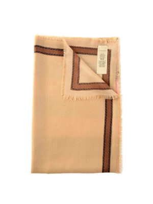 Burberry: scarves - Horseferry check cashmere scarf