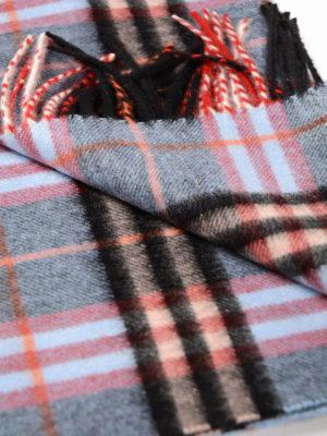 Burberry: scarves online - Castleford tartan cashmere scarf