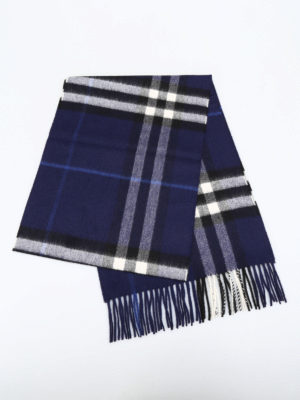 Burberry: scarves online - Classic Check cashmere scarf