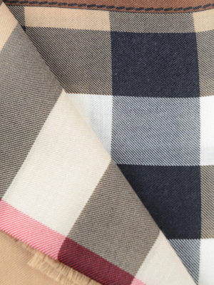 Burberry: scarves online - Horseferry check cashmere scarf
