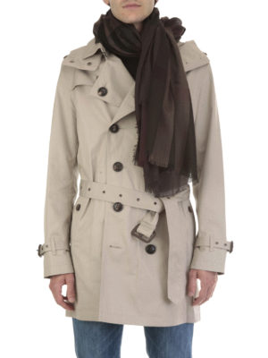 Burberry: scarves online - Lightweight silk blend check scarf