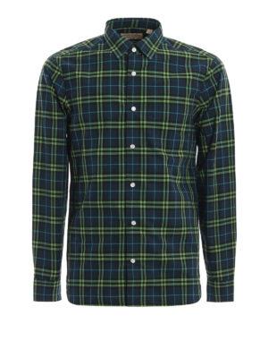BURBERRY: camicie - Camicia Alexander in cotone check