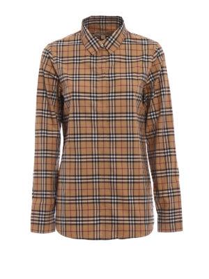 Burberry: shirts - Burberry iconic print classic shirt