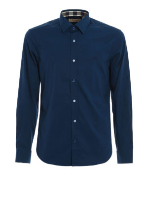 Burberry: shirts - Cambridge cotton shirt