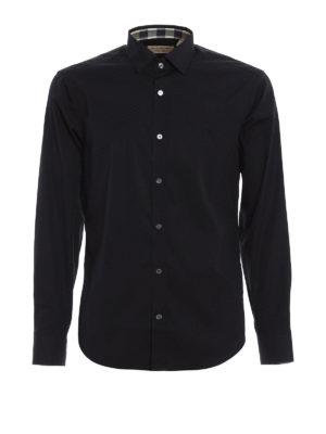 Burberry: shirts - Cambridge cotton shirt