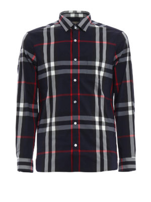 Burberry: shirts - Checked Nelson shirt