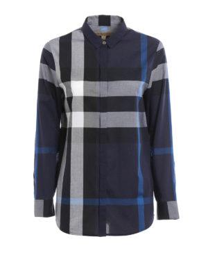 Burberry: shirts - Fred button-down cotton shirt